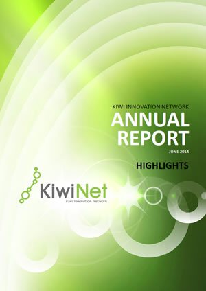 KiwiNet Annual Report Highlights 2014