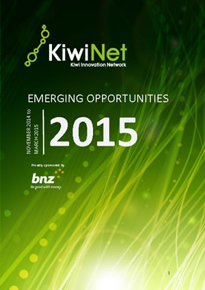 KiwiNet Emerging Opportunities March 2015